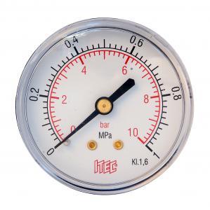 Manometer bakåt 0-10 bar