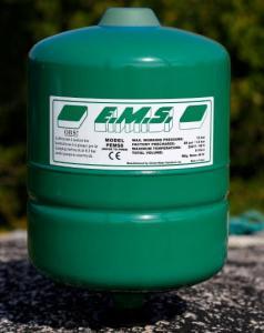 Membranhydropress 24L för pumpmontage