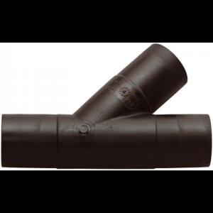 Grenrör PE 63mm X 45gr för avlopp