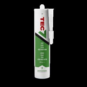 Tec7 Vit 310 ml för lim, fog, tätning