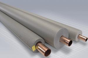 Rörisolering för 15mm rör TJ=13mm, grå