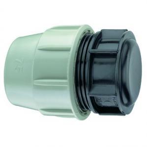 Ändhuv för PEM 50mm Plasson