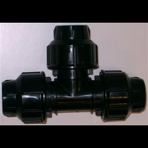 T-rör, PEM 32 mm, Plassim