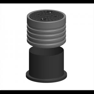 Justerbar teleskophals 600 mm
