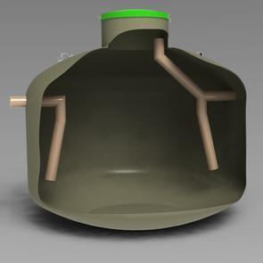 Oljeavskiljare VPI typ U - medelstort garagepaket