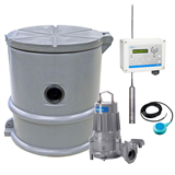 Pumpstation Compit mini Standard 3-fas